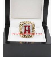 1992 Alabama Crimson Tide Men's Football NCAA National College Championship Ring