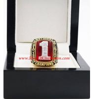 2002 Ohio State Buckeyes Men's Football NCAA National College Championship Ring