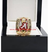 2015 Alabama Crimson Tide NCAA Men's Football College Championship Ring