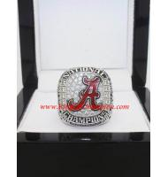 2015 Alabama Crimson Tide NCAA Men's Football College Championship FAN Ring