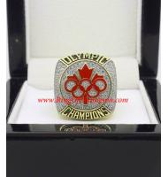 2014 Canada Winter Olympic Hockey Team Gold Medal Championship Ring, Replica Olympic Champions Ring