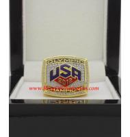 2012 Summer Olympics USA Dream Team Men's Basketball Championship Ring, Custom Olympics Champions Ring