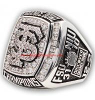 2012 Florida State Seminoles Men's Football Orange Bowl College Championship Ring