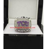 2014 TCU Horned Frogs Men's Football Peach Bowl College Championship Ring