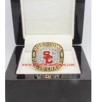 1995 USC Trojans Men's Football Rose Bowl College Championship Ring