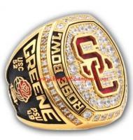 2017 USC Trojans Men's Football Rose Bowl College Championship Ring