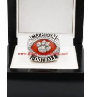 2014 Clemson Tigers Russell Bowl Men's Football College Championship Ring