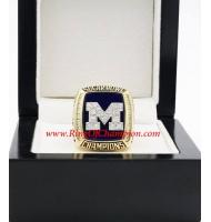 2011 Michigan Wolverines Men's Football Sugar Bowl National College Championship Ring