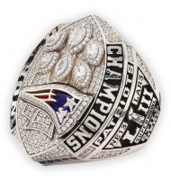 2018 New England Patriots Super Bowl LIII Men's Football Championship Ring Tom Brady