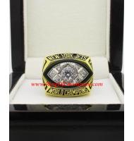 1968 New York Jets Super Bowl III World Championship Ring, Replica New York Jets Ring