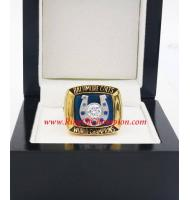 1970 Baltimore Colts Super Bowl V World Championship Ring, Replica Baltimore Colts Ring