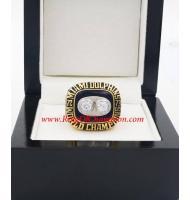 1973 Miami Dolphins Super Bowl VIII World Championship Ring, Replica Miami Dolphins Ring
