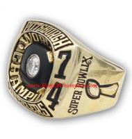 1974 Pittsburgh Steelers Super Bowl IX World Championship Ring, Replica Pittsburgh Steelers Ring