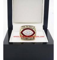 1982 Washington Redskins Super Bowl XVII World Championship Ring, Replica Washington Redskins Ring