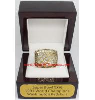 1991 Washington Redskins Super Bowl XXVI World Championship Ring, Replica Washington Redskins Ring