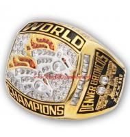 1998 Denver Broncos Super Bowl XXXIII World Championship Ring, Replica Denver Broncos Ring