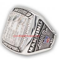 2007 New York Giants Super Bowl XLII World Championship Ring, Custom New York Giants Ring