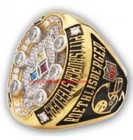 2008 Pittsburgh Steelers Super Bowl XLIII World Championship Ring, Replica Pittsburgh Steelers Ring