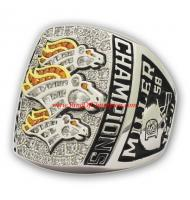 2015 Denver Broncos Super Bowl 50 World Championship FAN Ring, Custom Denver Broncos Champions Ring