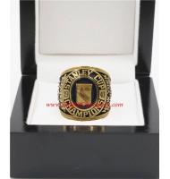 1939 - 1940 New York Rangers Stanley Cup Championship Ring, Custom New York Rangers Champions Ring