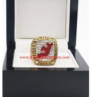 1999 - 2000 New Jersey Devils Stanley Cup Championship Ring, Custom New Jersey Devils Champions Ring
