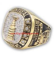 1959 - 1960 Montreal Canadiens Stanley Cup Championship Ring, Custom Montreal Canadiens Champions Ring