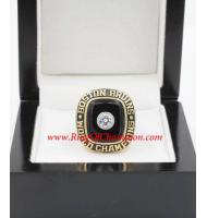1969 - 1970 Boston Bruins Stanley Cup Championship Ring, Custom Boston Bruins Champions Ring