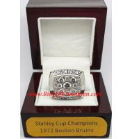 1971 - 1972 Boston Bruins Stanley Cup Championship Ring, Custom Boston Bruins Champions Ring