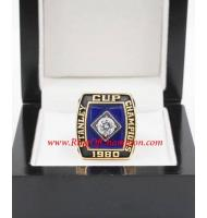 1979–1980 New York Islanders Stanley Cup Championship Ring, Custom New York Islanders Champions Ring