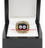 1980 - 1981 New York Islanders Stanley Cup Championship Ring, Custom New York Islanders Champions Ring