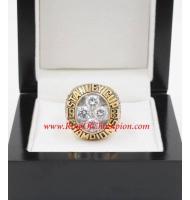 1982 - 1983 New York Islanders Stanley Cup Championship Ring, Custom New York Islanders Champions Ring