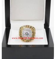 1984 - 1985 Edmonton Oilers Stanley Cup Championship Ring, Custom Edmonton Oilers Champions Ring