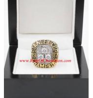 1986 - 1987 Edmonton Oilers Stanley Cup Championship Ring, Custom Edmonton Oilers Champions Ring