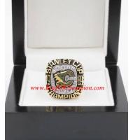 1988 - 1989 Calgary Flames Stanley Cup Championship Ring, Custom Calgary Flames Champions Ring