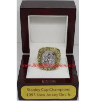 1994 - 1995 New Jersey Devils Stanley Cup Championship Ring, Custom New Jersey Devils Champions Ring