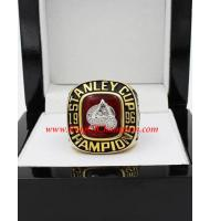 1995 - 1996 Colorado Avalanche Stanley Cup Championship Ring, Custom Colorado Avalanche Champions Ring