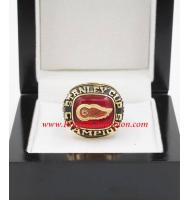 1996 - 1997 Detroit Red Wings Stanley Cup Championship Ring, Custom Detroit Red Wings Champions Ring