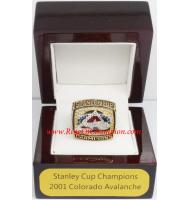 2000 - 2001 Colorado Avalanche Stanley Cup Championship Ring, Custom Colorado Avalanche Champions Ring