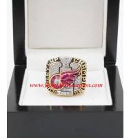 2001 - 2002 Detroit Red Wings Stanley Cup Championship Ring, Custom Detroit Red Wings Champions Ring