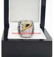 2006 - 2007 Anaheim Ducks Stanley Cup Championship Ring, Custom Anaheim Ducks Champions Ring