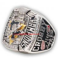 2008 - 2009 Pittsburgh Penguins Stanley Cup Championship Ring, Custom Pittsburgh Penguins Champions Ring