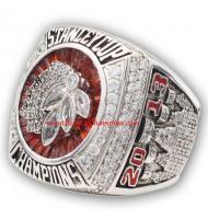 2012 - 2013 Chicago Blackhawks Stanley Cup Championship Ring, Custom Chicago Blackhawks Champions Ring